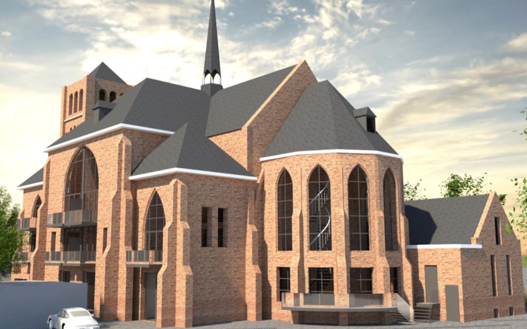 Bidden én wonen in Sint-Johannes de Doperkerk in Sluis