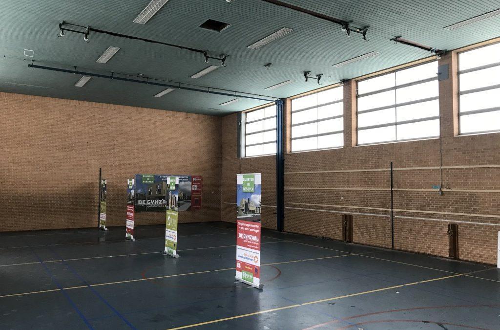 Voortgang bouwwerkzaamheden Gymzaal Waalwijk: Start werkzaamheden gymzaal